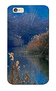 Aqrwvh-618-igwaejv Duck Lake Wood Reeds Mountains Autumn Fashion Tpu Case Cover For Iphone 6, Series