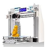 JGAURORA 3d Printer Prusa i3 DIY 3d Printers Kit Self Assembly Metal Frame ABS PLA filament 1.75mm
