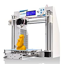JGAURORA 3d Printer Prusa i3 DIY 3d Printers Kit Self Assembly Metal Frame ABS PLA filament 1.75mm
