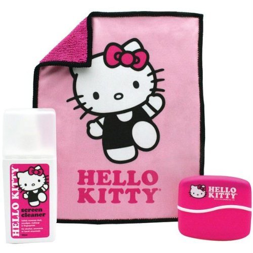 150 Ml Screen Cleaner (HELLO KITTY 150ml Screen Cleaner with Cloth and Brush (902831))