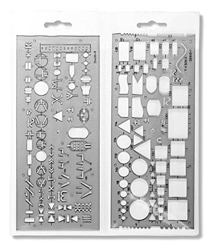 Koh-I-Noor- Set of 3 Electro Templates - Piece 5 Shape Metrics