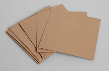 A4 Recycled Kraft Card - 300gsm 50 Sheets: Amazon.co.uk: Office ...