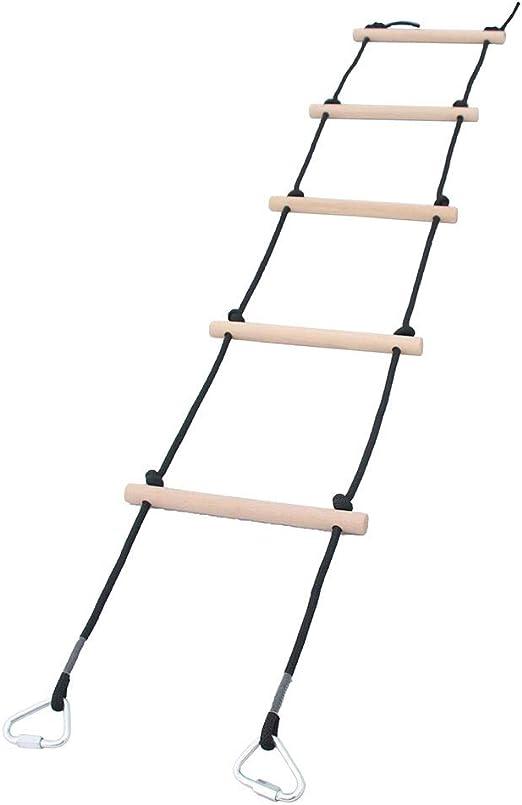 Baoblaze Escalera de Cuerda Al Aire Libre Interior para Niños para ...