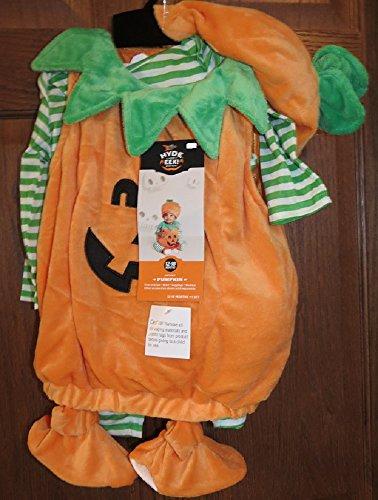 Hyde & Eek pumpkin Infant costume 12-18 months