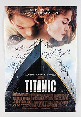 titanic-film-poster-signed-by-celine-dion-james-cameron-leonardo-dicaprio-kate-winslet-jsa-full-loa