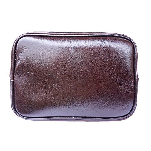 6559 Leather Florence Vitello Borse Moro Lucida E Pratico Zainetto A Market Testa Di In Luminosa Pelle Unisex Borsa 6dgwrdxq1