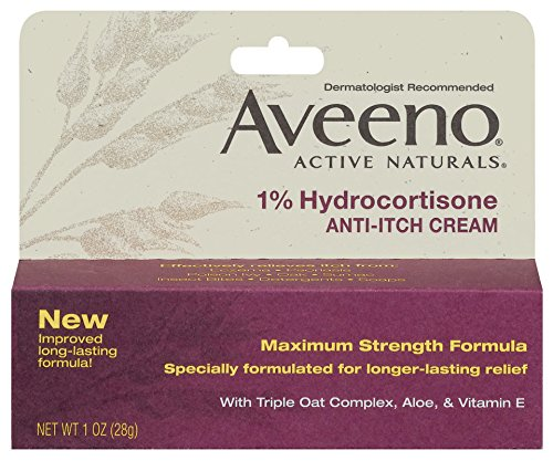 Aveeno Hydrocortisone Anti Itch Relief Cream product image