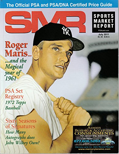 SMR July 2011 Price Guide Sports Market Report Roger ()