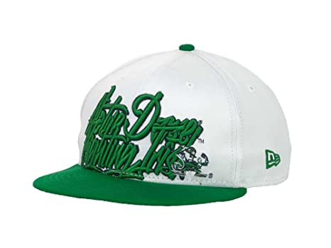 8fa0dd3a3c8 Image Unavailable. Image not available for. Color  Notre Dame Fighting Irish  NCAA 9Fifty Snapback Cap ...
