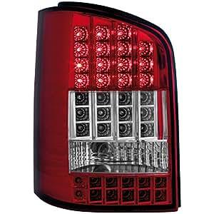 Dectane RV35ALRC - Faros traseros LED con intermitente LED para VW T5 03+, color rojo y transparente
