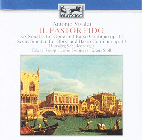 Price comparison product image Vivaldi: Il Pastor Fido -Six Sonatas for Oboe and Basso Continuo, Op. 13
