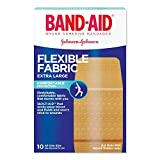 Product review for BAND-AID Flexible Fabric Bandages, Extra Large 10 ea (Pack of 3)
