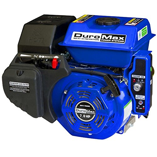 DuroMax XP7HPE 7 hp Electric/Recoil Start Engine ()