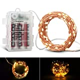 KATUMO Fairy String Lights Christmas Lights Christmas Decor 120 LED 39ft with Remote Control
