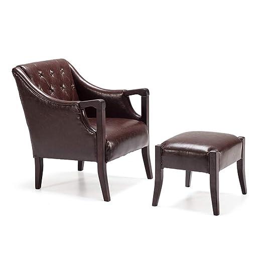 TongN-Sillones Lazy Sofa Chair Cómodo Ocio Sofa Chair ...