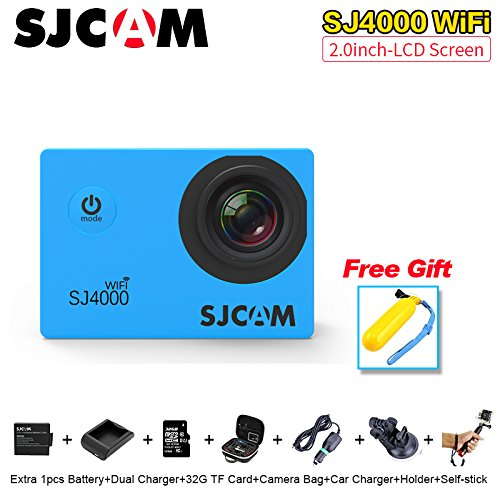 SJCAM SJ4000 Wifi 1080P Full HD Action Camera Sport DVR (Silver) - 6