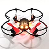 Czxin® Global Drone GW008 2.4G 4CH Headless Mode Automatic Parallel System 3D Rolling Mini Quadcopter Skull Nano RC Drones VS Cheerson CX-10 CX-10A