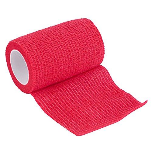 Vendaje cohesivo,12 Vendajes Elásticos Adhesivos Adhesivos Para Camuflaje de La Pegatina de Bicicleta de Caza (B) 5