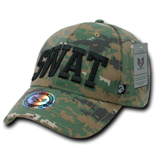 Rapiddominance SWAT Digital Military/Law Cap ()