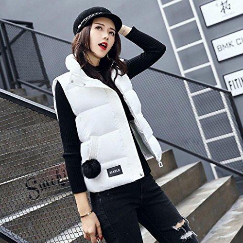 Puffer Packable Jacket Vest Weight Women's White Down Ultra Gilet Coat Sonnena Light qO1t0Bw