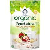 Gerber Organic Yogurt Melts, Banana Strawberry, 1 oz