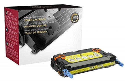 (Inksters Remanufactured Toner Cartridge Replacement for HP Q6472A (HP 502A) - Yellow )