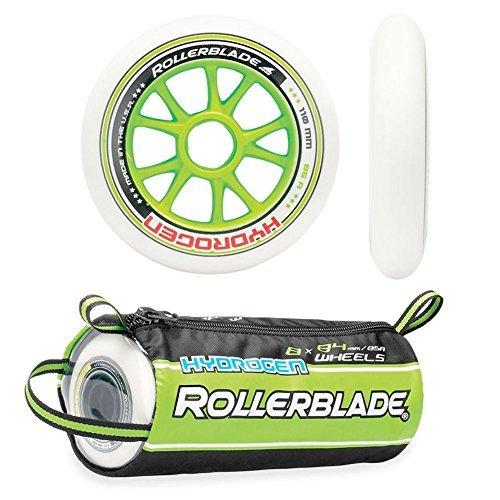 Rollerblade Hydrogen 6X110mm,2X100mm 85A Wheels, 8 Pack