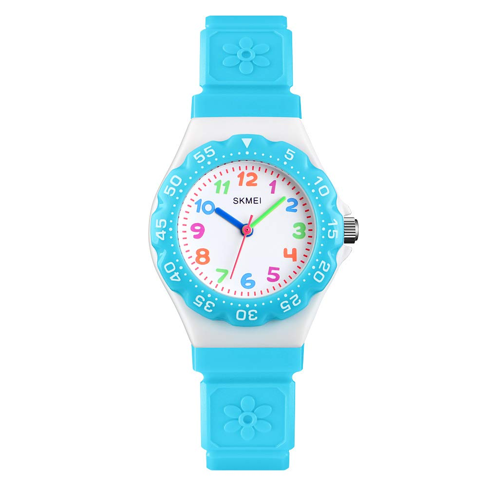 GRyiyi Kids Watch, Girls Watches 50M Waterproof Wrist Watch Adorable Time Teacher for Boy Girl