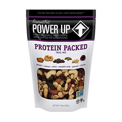 Power Up Trail Mix, Protein Packed Trail Mix, Non-GMO, Vegan, Gluten Free, Keto-Friendly, Paleo-Friendly, No Artificial Ingredients, Gourmet Nut, 14 oz Bag 1