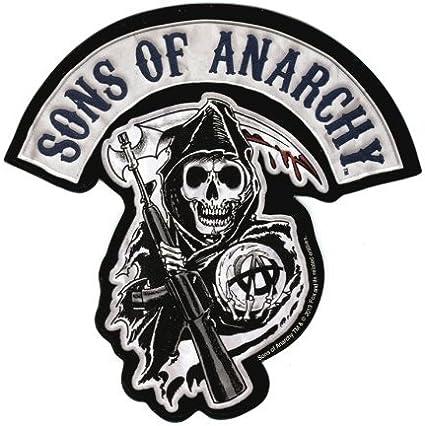 Sons Of Anarchy Logo Sticker: Amazon.es: Juguetes y juegos