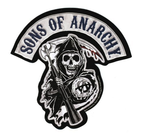 (Sons Of Anarchy Patch Sticker)