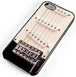 iPhone Case Fits iPhone 8 PLUS 8+ Electric Guitar Strings Pick Ups Music Loud Amp Energy Black Plastic