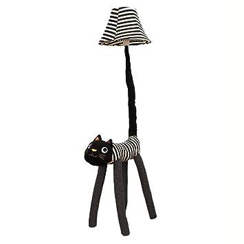 Dibujos Animados Cara Negra Gato Habitación para niños ...