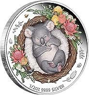 2021 AU Dreaming Down Under PowerCoin Koala Silver Coin 50 Cents Australia 2021 Proof