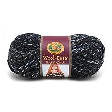 Lion Brand Yarn 640-534 Wool-Ease Thick & Quick Yarn, Metropolis