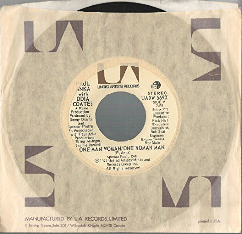 Paul Anka: One Man Woman / Let Me Get To Know You 7