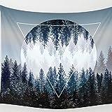 Boho Scenery Sun Tapestry Beach Blankets Home Decor Bedroom Living Room Hanging Blankets 51 X 59 Inch