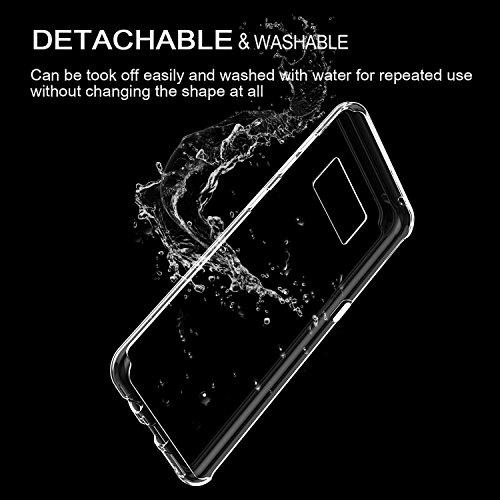 Funda Samsung Galaxy S8, Vanki® Mármol [ Tecnología IMD ] Transparente Silicona TPU de Flexibilidad Carcasa Case Bumper Ultra Delgado para Galaxy S8 Plus 6