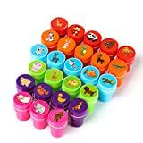 Kesoto 26 Pieces Assorted Self-Inking Stamps Set for Kids of Farm & Sea Animal Nautical Stamps - Party Favor, Teacher Stamps