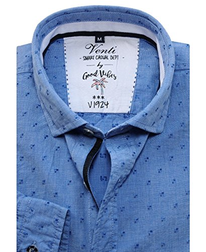 Venti Slim Fit Smart Casual Langarmhemd extralanger Arm - ÄL 72 cm 172680702-108