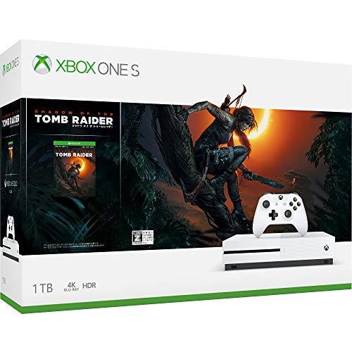 XboxOne S本体 1TB シャドウオブザトゥームレイダー同梱版の商品画像