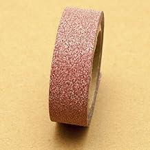 SoMi Glitter Washi Tape Mid pink 5m x 1.5 cm