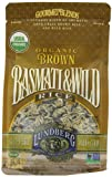 Lundberg Family Farms Organic Rice, Brown Basmati and Wild, 16 Ounce (Pack of 6)