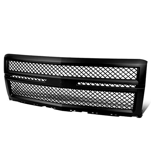 For Chevy Silverado 1500 GMT K2XX ABS Plastic Mesh Style Grille (Black)