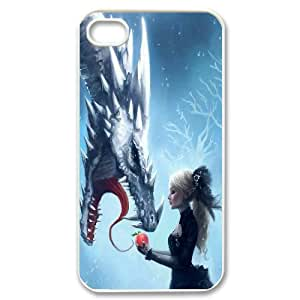CHENGUOHONG Phone CaseDragon Art Desigh For Iphone 4 4S case cover -PATTERN-16