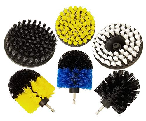 (Multi-Purpose Drill Brush Attachment for Cleaning - All in One Power Scrubber)