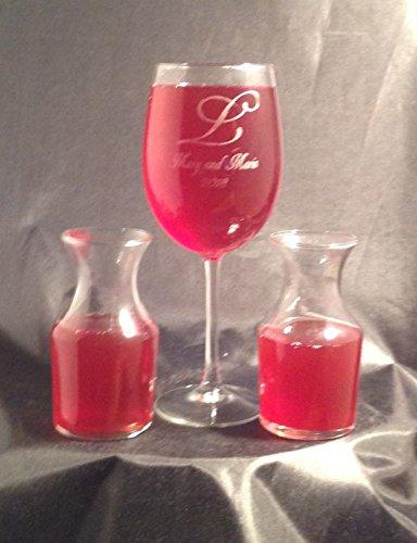 Wine Ceremony Glass & Carafe Set -