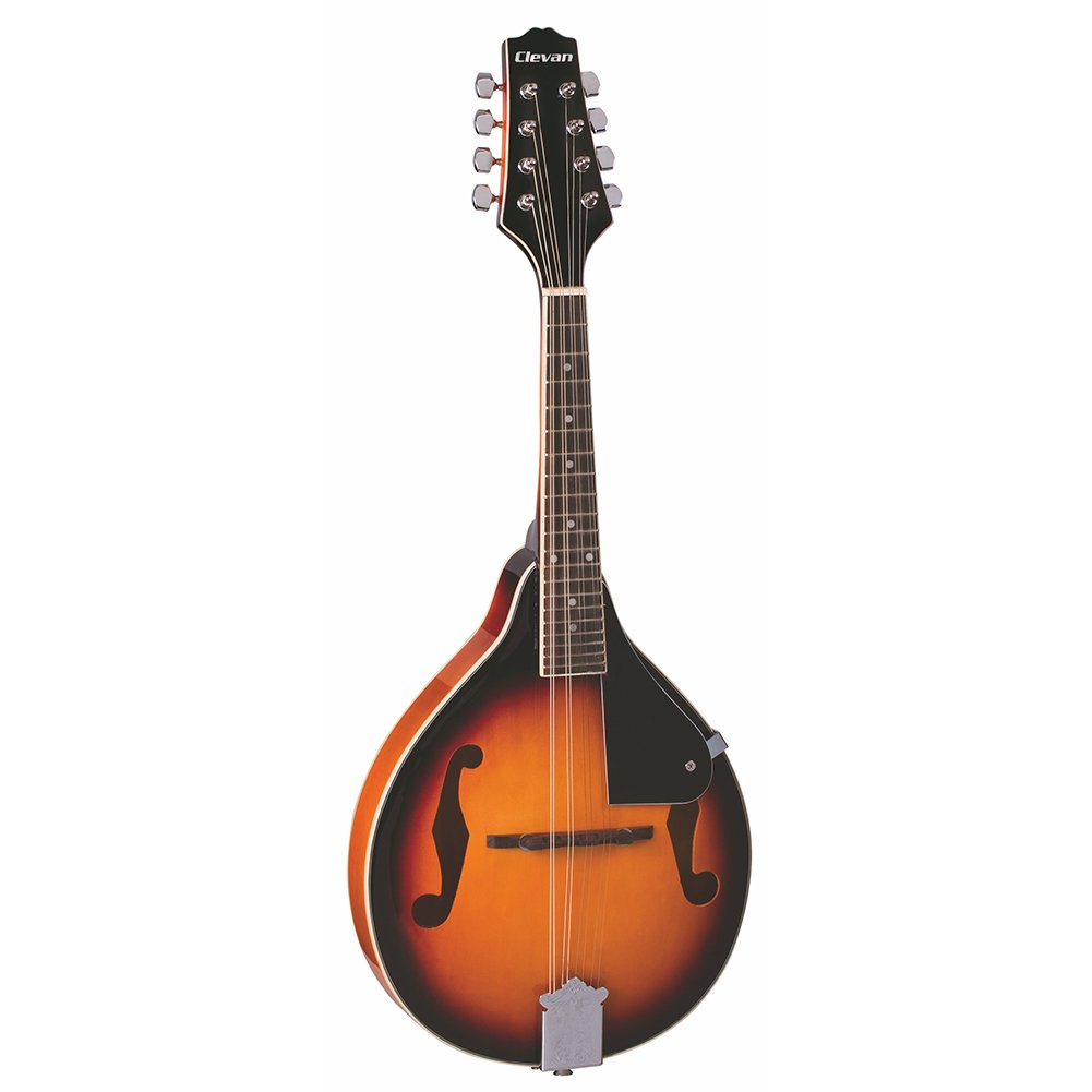 Clevan M-10 TS A Model Flat back Mandolin, Tobacco Sunburst
