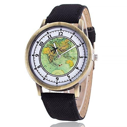 Candy Alarm Chronograph Watch - Beclgo watch,Women Printed Flower candy Causal Quartz Wrist Watches Chronograph Watch (Black,free)