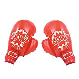 Jumbo Play Boxing Gloves, Red, OS